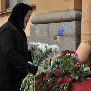 На Малой Посадской торжественно открыли мемориальную доску Даниилу Гранину