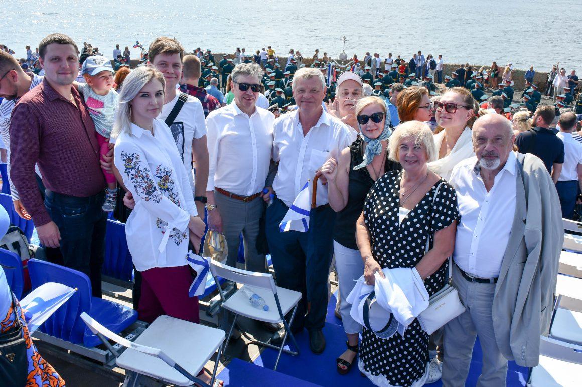 Представители Общественной палаты Санкт-Петербурга приняли участие в праздновании Дня Военно-морского флота России