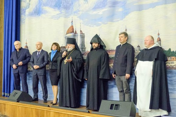 Представители Общественной палаты Санкт-Петербурга приняли участие в открытии XIII Международного фестиваля Христианского кино «Невский Благовест»