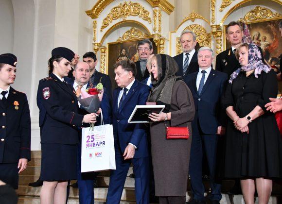Председатель Общественной палаты удостоена Памятного знака святой Татианы