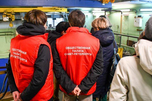 Общественная палата Петербурга провела выездной мониторинг предприятия, утилизирующего отходы I и II класса опасностей