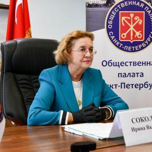 Председатель Общественной палаты представила в Совете Федерации опыт волонтерской деятельности в Санкт-Петербурге