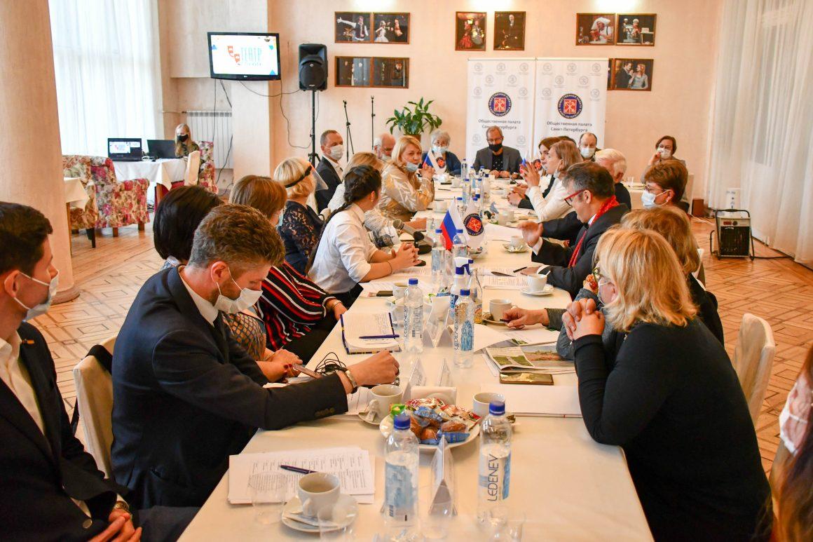 Вопросы творческого воспитания и дополнительного образования детей с особыми потребностями обсудили в Общественной палате Санкт-Петербурга