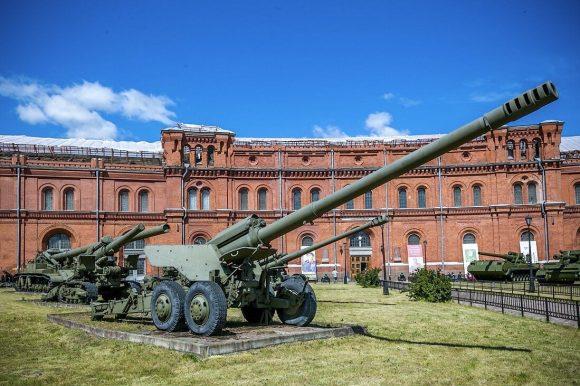 Военно-исторический музей артиллерии, инженерных войск и войск связи можно посетить бесплатно