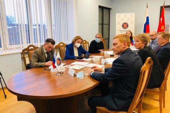 На площадке Общественной палаты Санкт‑Петербурга состоялось обсуждение вопросов вакцинации населения от коронавирусной инфекции