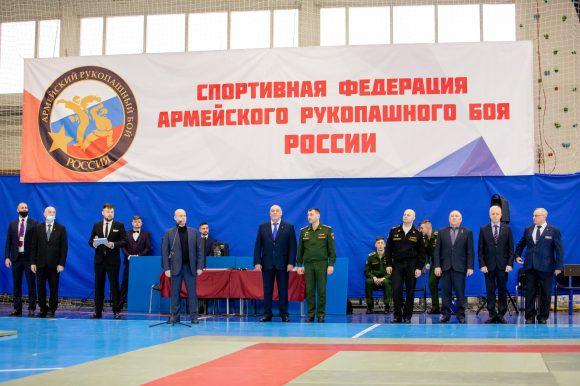При поддержке Общественной палаты Петербурга состоялось Первенство России по армейскому рукопашному бою